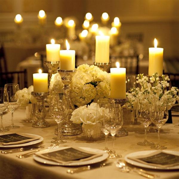 Pillar Candles Arrangements